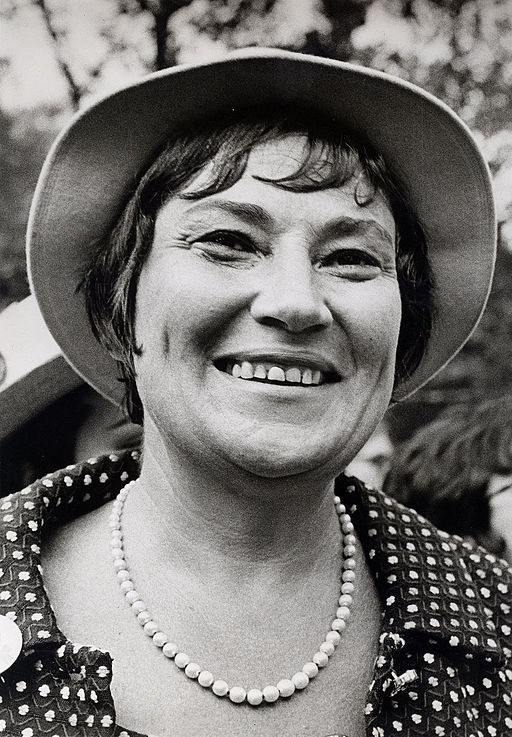 Congresswoman Bella Abzug led the fight for ERA and was an Athena
