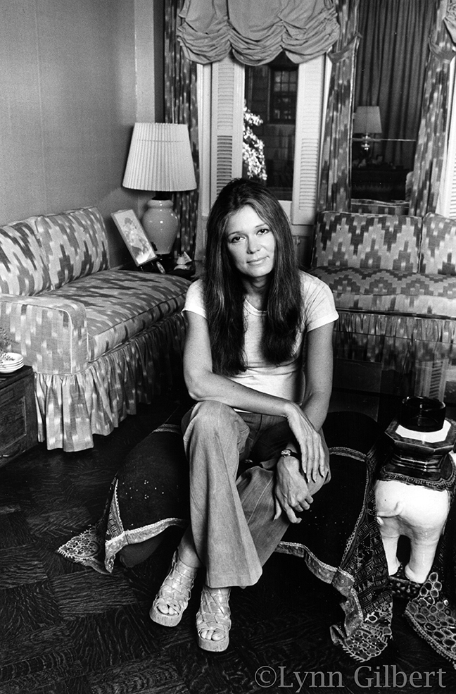 Gloria Steinem led the fight for ERA and was a stylish and hip Aphrodite