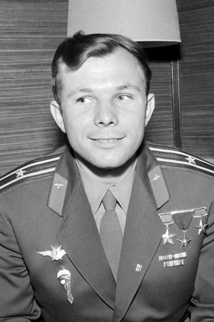 Yuri Gagarin, a Russian, was the first man to orbit Earth.