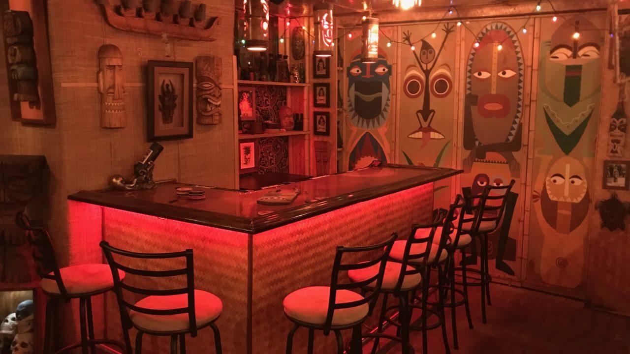 Tiki Bar at Home