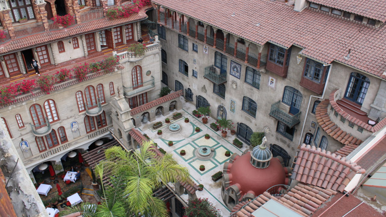 Courtyard of Mission Inn