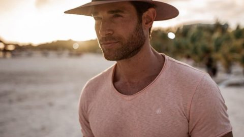 Handsome man in a hat