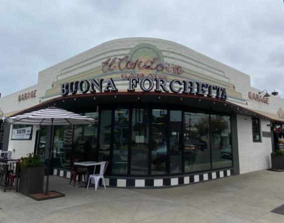 Renovated El Cordova Garage is now a restaurant