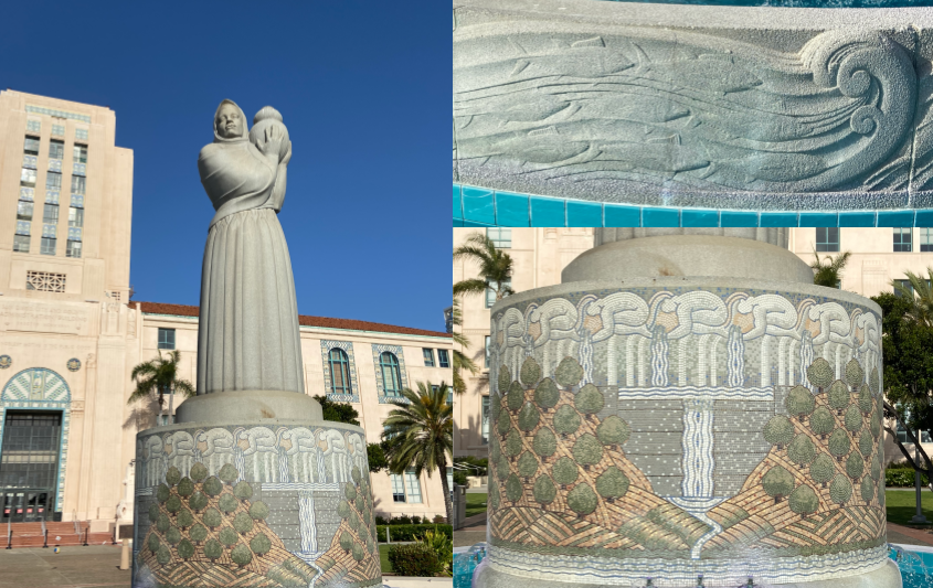 Guardian of Water fountain