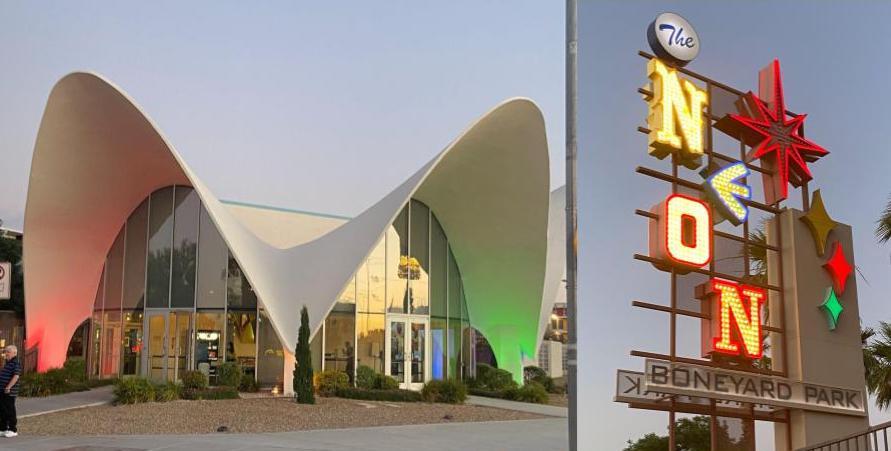 La Concha and Neon Museum sign