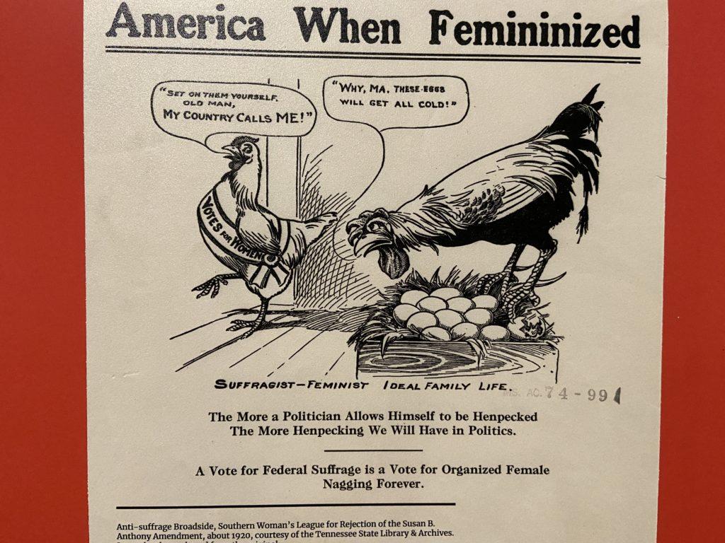 Anti Suffragette comic