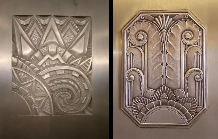 Art Deco bas-relief