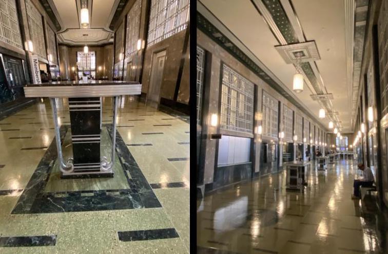 Lobby of Frisk Art Museum/Nashville Post Office