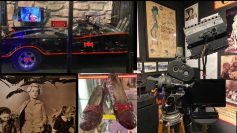 collage of Hollywood Museum